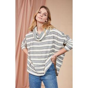 Dolan | Isidora striped cowl neck tunic -sz xs-